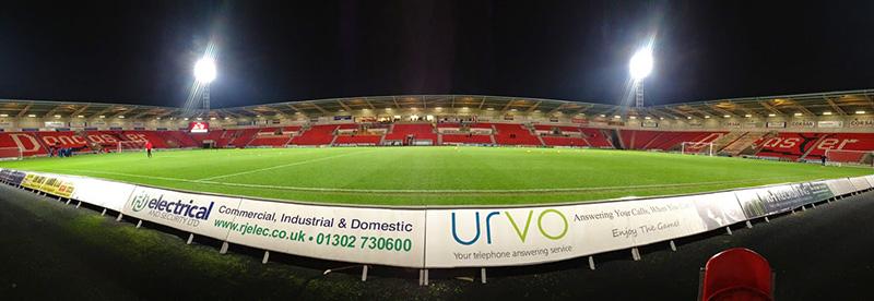 Panoramic Doncaster Rovers Keepmoat Stadium