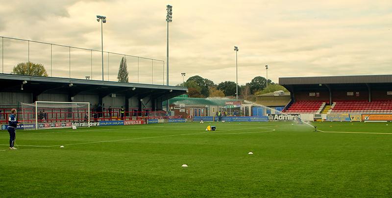 Kingsmeadow, the home of AFC WImbledon