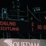 England u16 2-1 Scotland u16 at huish park November 2014