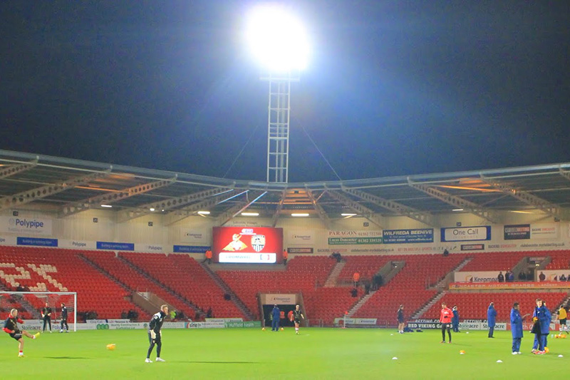 Doncaster rovers keepmoat stadium league 1