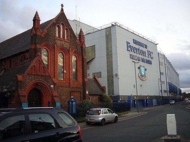 St Lukes  Church Goodison Park