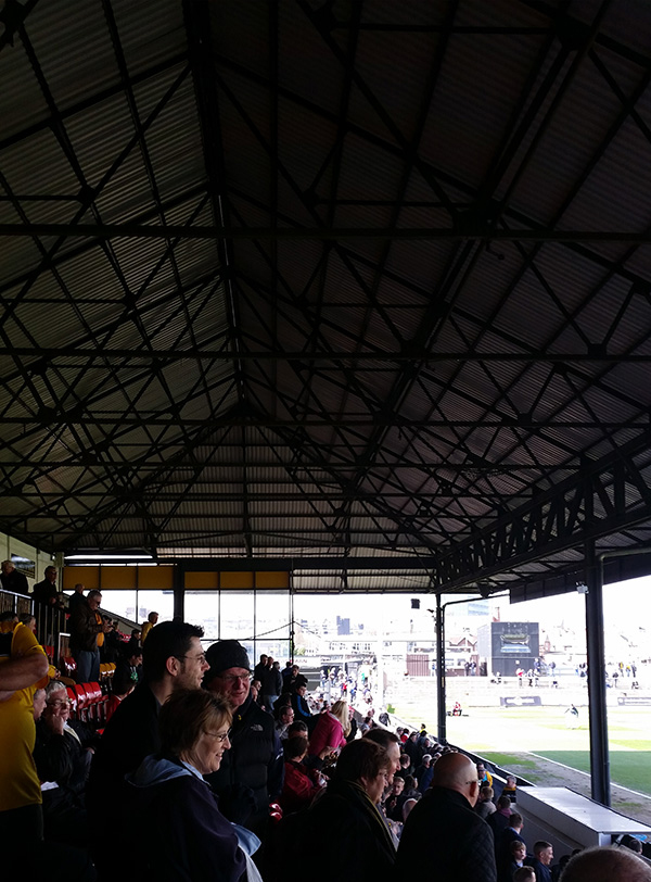 Stand at Newport County Rodney Parade