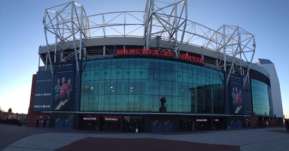 old trafford front