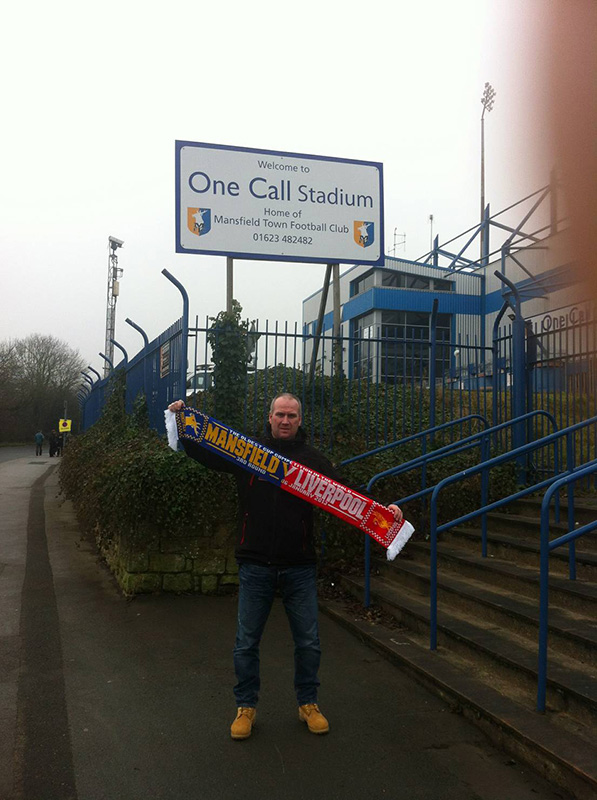 At field mill (one call stadium) for mansfield v liverpool in the fa cup