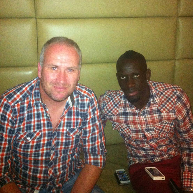 meeting Mamadou Sakho the day he signed for Liverpool