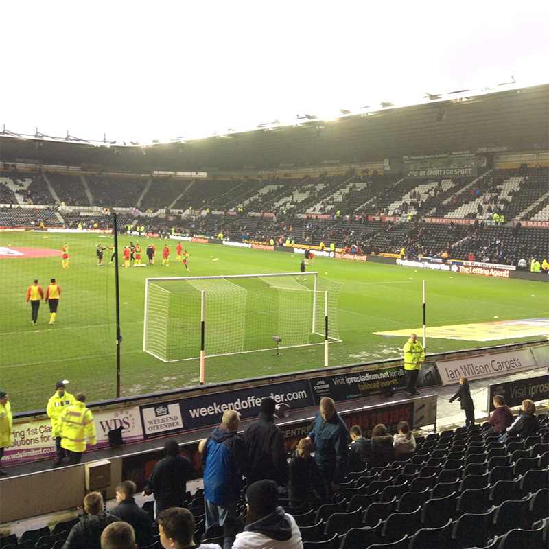 Derby County v Watford at the iPro Stadium