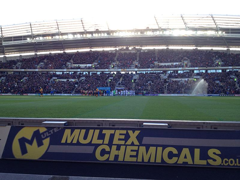 Before kick off Hull City v QPR Premier league