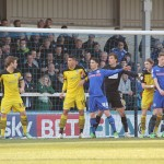 Rochdale v Colchester United at Spotland
