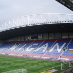DW Stadium formerly the JJB Stadium Wigan