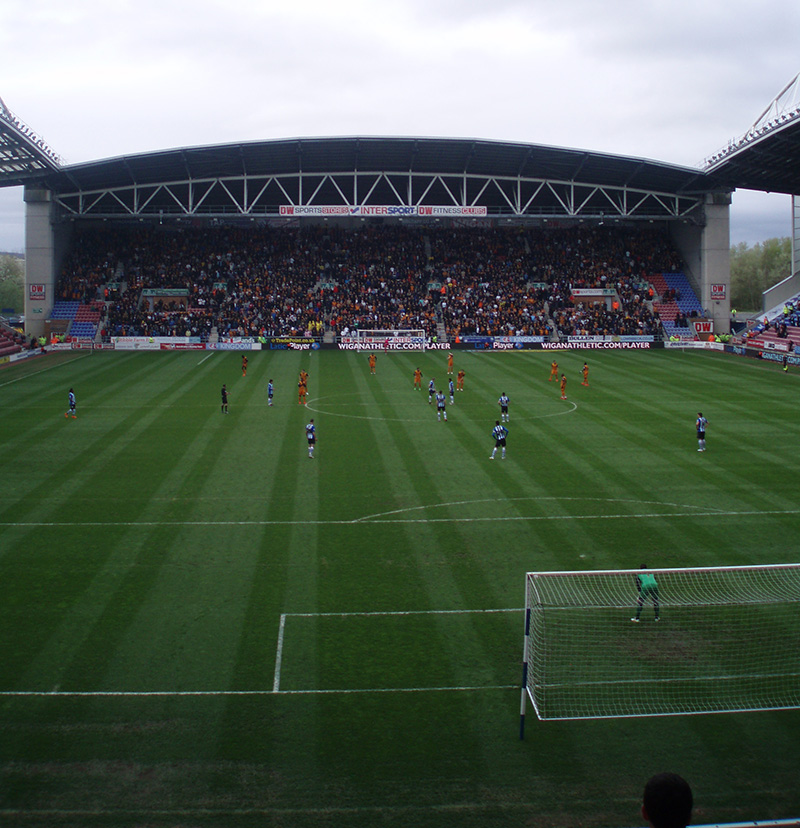 Wigan v Wolves in the Championship