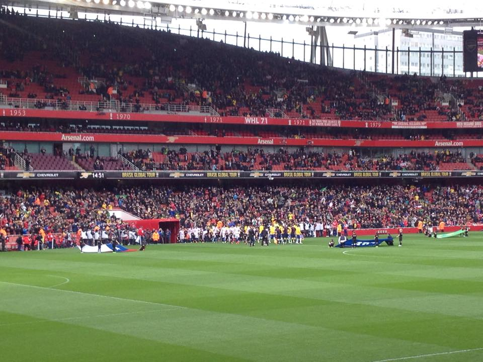 Brazil v Chile at the Emirates