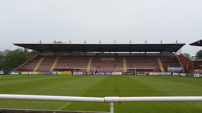 football leagues largest terrace exeter city St james park