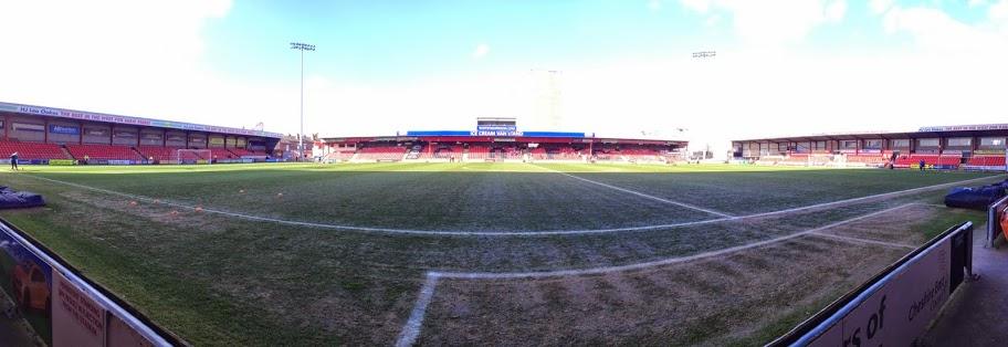 Crewe Alexandra Gresty Road Stadium