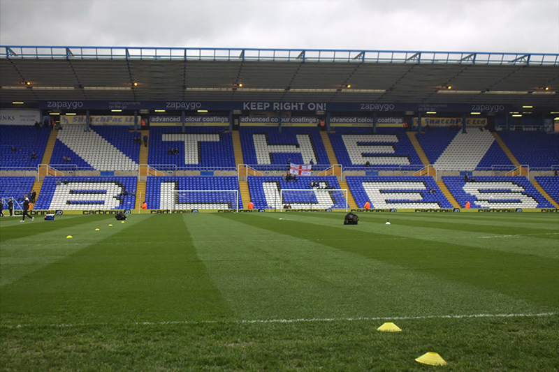 st andrews the home of birmingham city fc