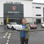 Dave Grant joins the 92 cub at Morecambe's Globe Arena