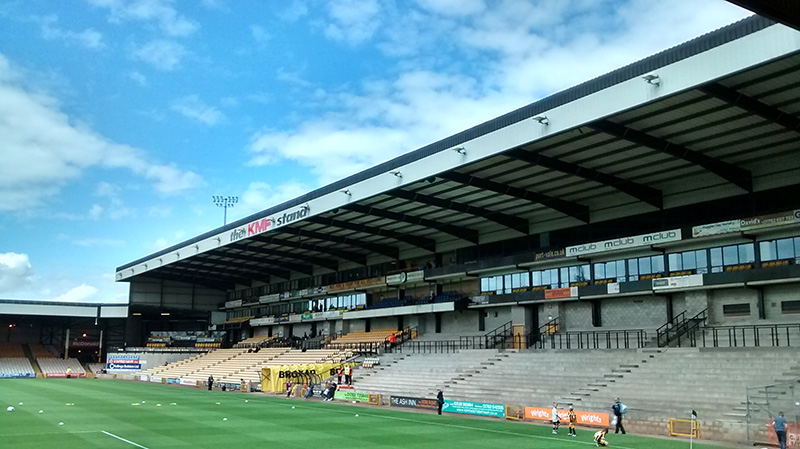 Unfinished stand at vale park the home of port vale