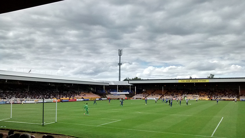 Port Vale v Gillingham League 2