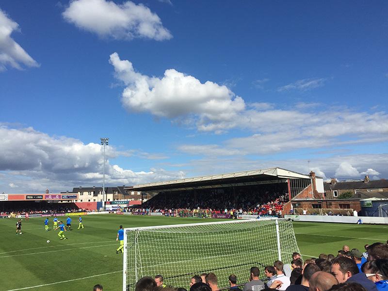 York City v Hartlepool United in league 2