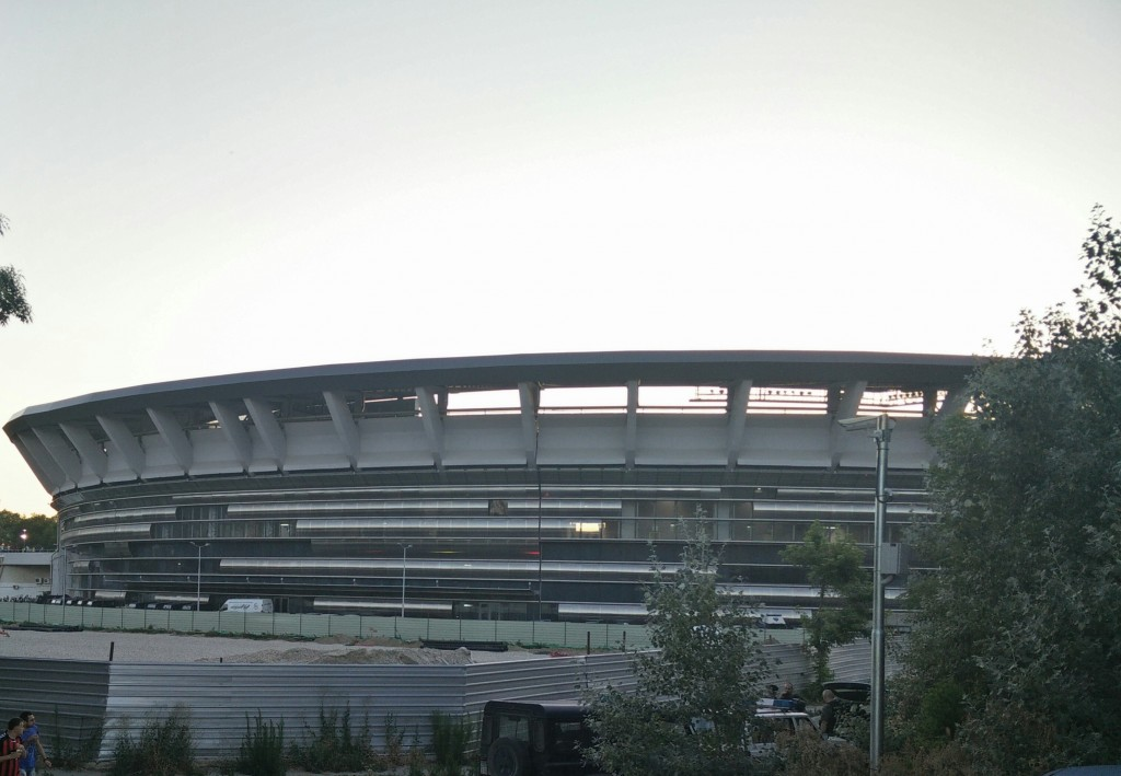 Outside view of stadium