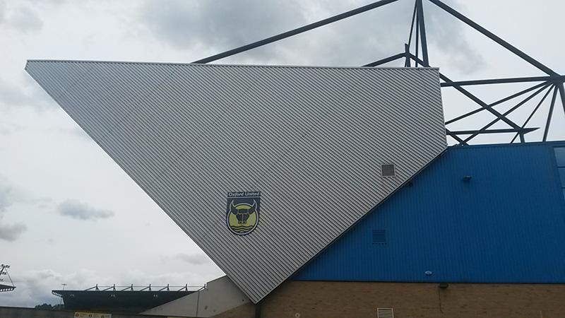 outside the kassam stadium oxford
