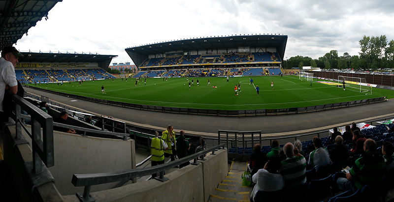 panormic of oxford united's ground