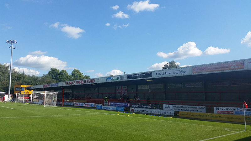 crawley's broadfield stadium