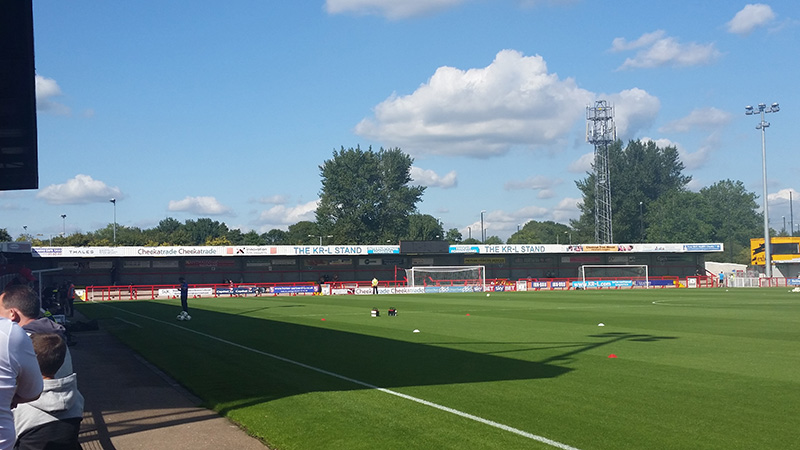 checkatrade stadium crawley
