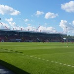 main stand at crawley town's broadfield stadium