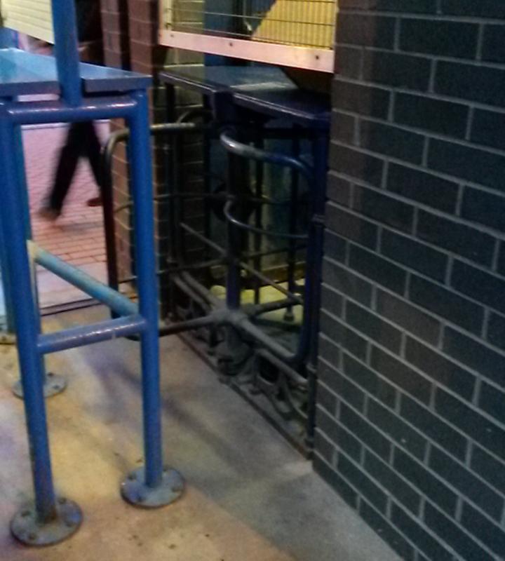 turnstile at huddersfield town john smith's stadium