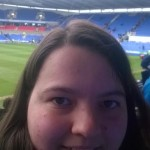 Reading FC Madjeski Stadium selfie