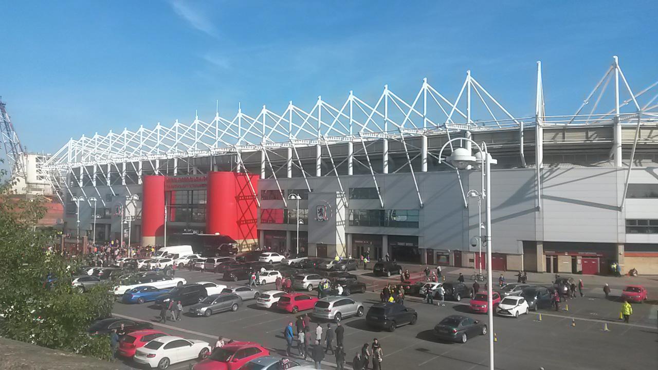 the riverside stadium middlesbrough