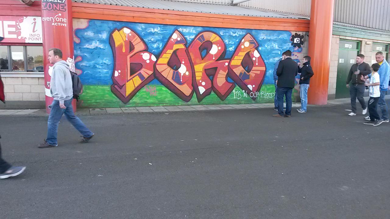 boro grafitti
