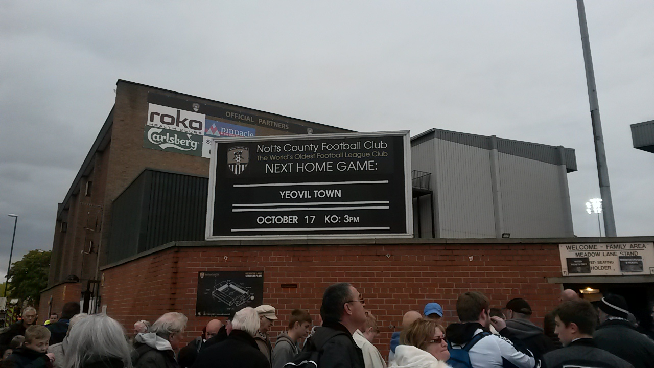 next game at meadow lane sign yeovil town notts county