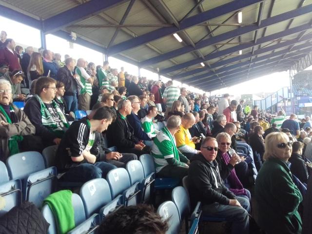 yeovil fans at fratton park portsmouth