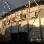 outside the kc stadium hull humberside
