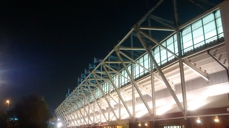 stand at stoke city's britannia stadium