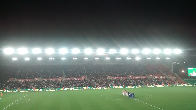 stoke city v chelsea in the capital one cup