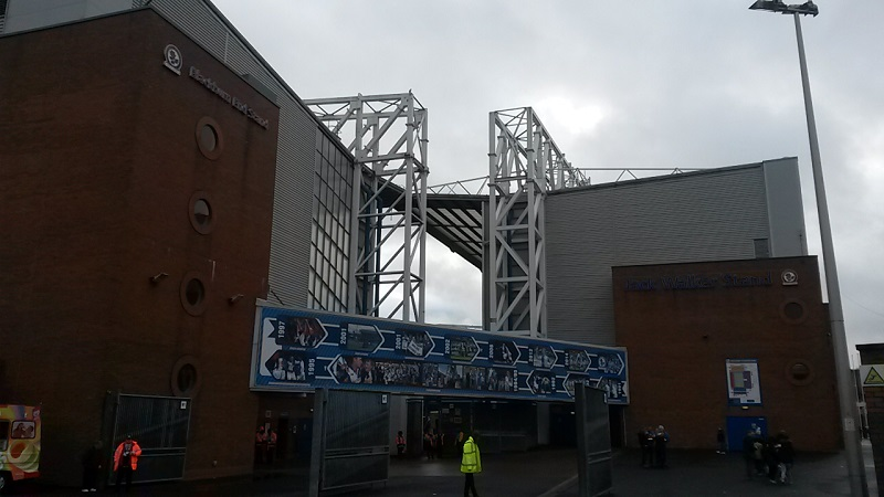 outside ewood park blackburn