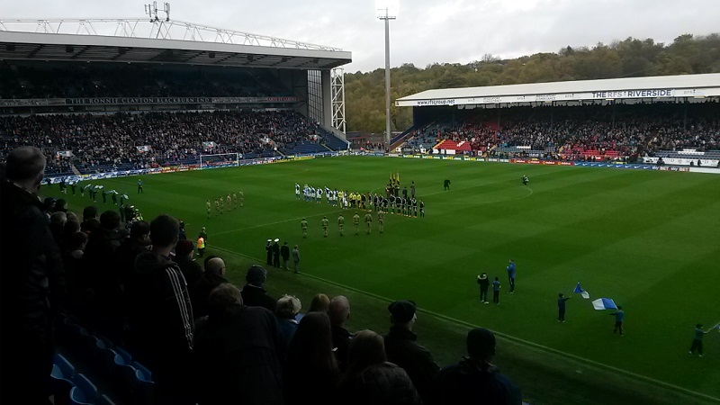 remembrance day at ewood park blackburn rovers v brentford