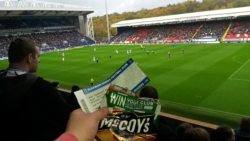 football league tickets from mccoys