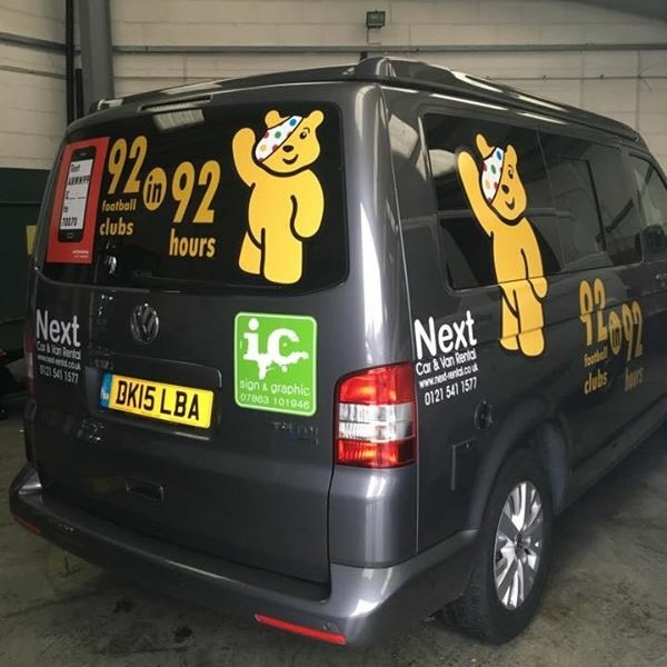 doing the 92 grounds in 92 hours for children in need