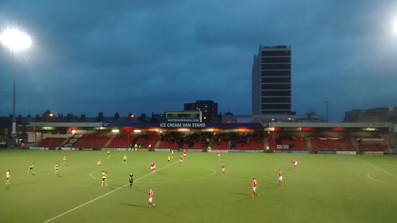crewe alexandra 1-1fleetwood town league one