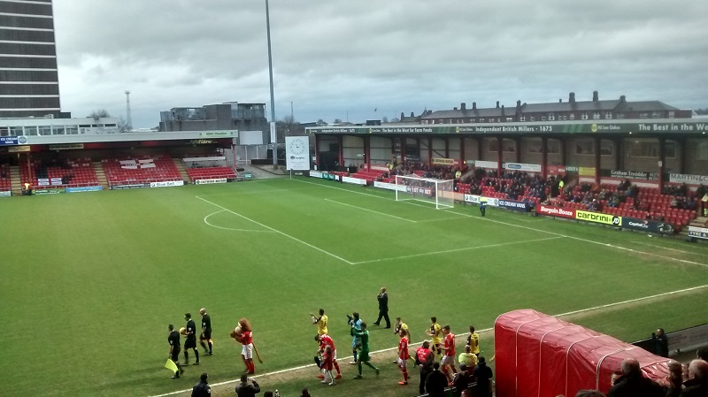 crewe v fleetwood league 1