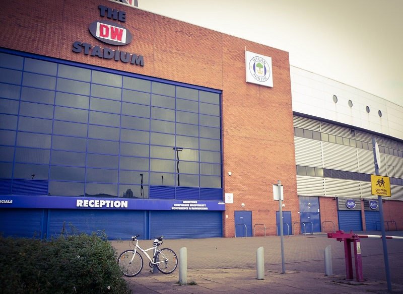 wigan athletic dw stadium