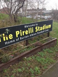 Burton - Pirelli Stadium