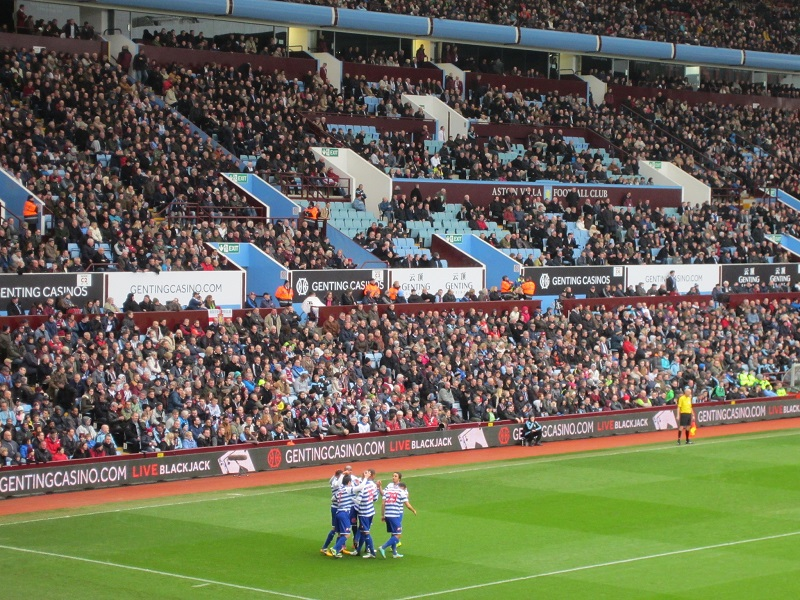 Villa Park the home of Aston Villa