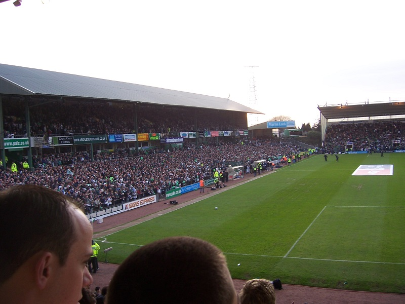 cup match at home park plymouth arygle