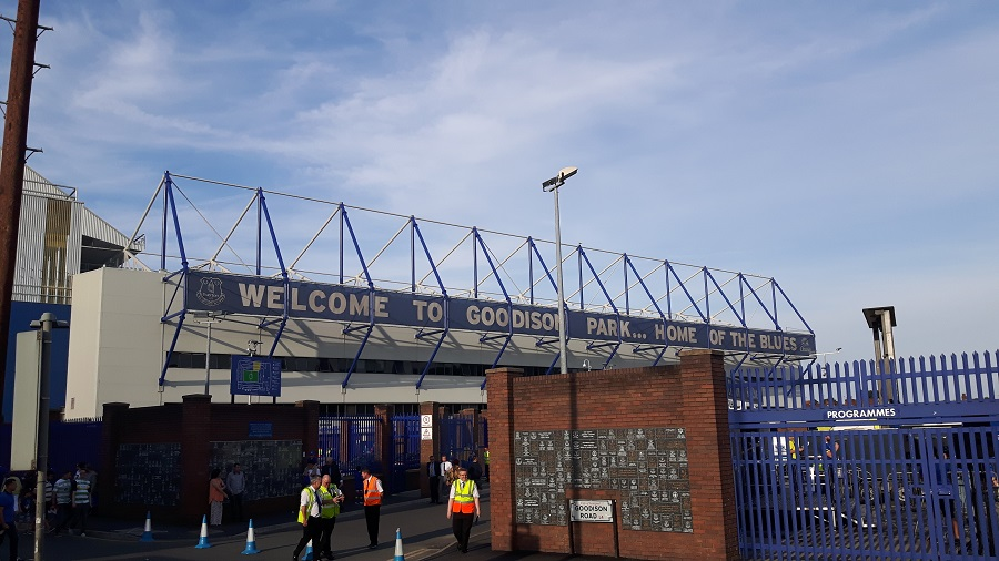welcome to goodison park everton