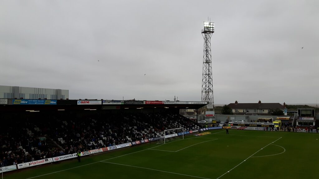The Pontoon Stand Blundell Park