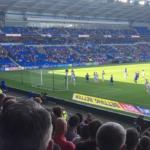 Adam Thurston video blog from the Cardiff City Stadium Leeds United